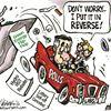 Today's cartoon: Poll reversal